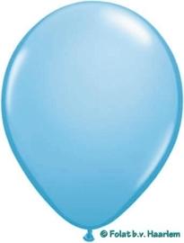 Kwaliteitsballon standaard - lichtblauw - 50 stuks