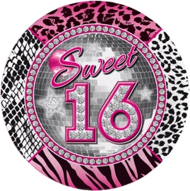 Sweet 16 bordjes