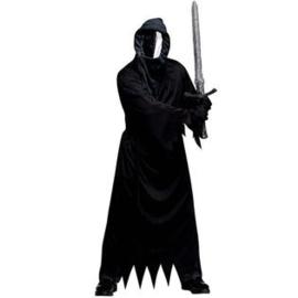 Scary kostuum met spiegelmasker