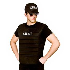 Swat kogelvrijvest en pet