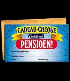Cadeau cheque pensioen