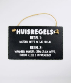 Leisteen - Huisregels