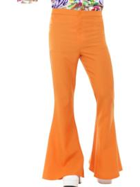 Disco 70's broek oranje