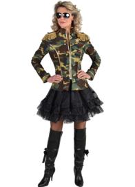 Camouflage jasje Anna