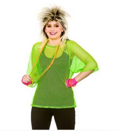 Netshirt groen 80's