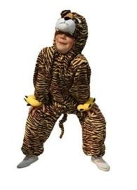Kleine plushe tijger