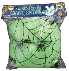 Spinneweb groen 50 gram