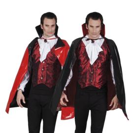 Bloody cape darkness rood / zwart