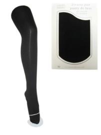 Zwarte piet panty katoen de luxe