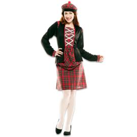 Schotse dames kostuum