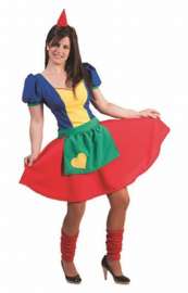 Kabouter vrouw jurkje