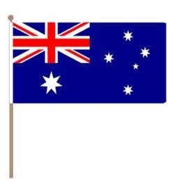 Zwaai vlaggetje Australie