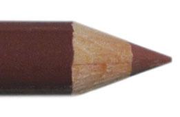 Lippen potlood 11cm Steenrood
