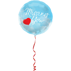 Missing you folieballon