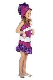 Purple vis jurkje luxe