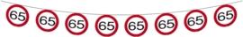 Slinger 65 jaar verkeersbord