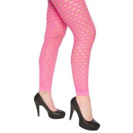 Legging gat roze