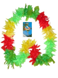 Hawaii slinger rood/groen/geel