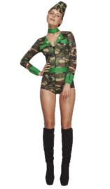 Fever Combat Chick kostuum
