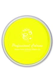 PXP waterschmink neon geel 30gr