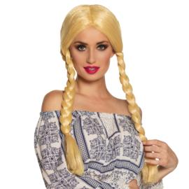 Pruik tiroler anna blond