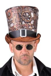 Steampunk hoed deluxe