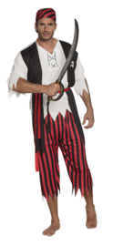 Piraat Jack kostuum