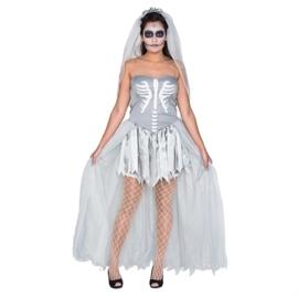 Zombie bruid jurkje