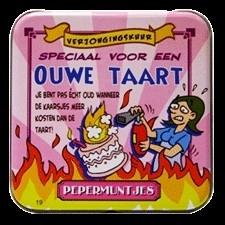 Fun pepermuntjes Ouwe taart