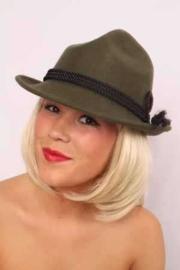 Tiroler hoed Wolvilt