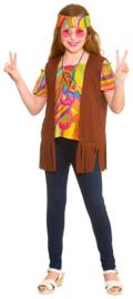 Cool hippie kostuum