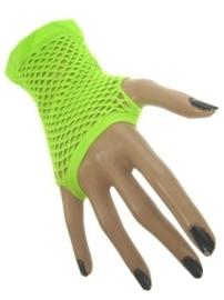 Net handschoenen groen