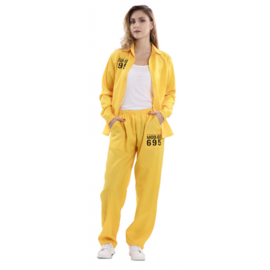 Vis a vis kostuum Macarena  | compleet outfit