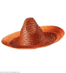 Mexicaanse sombrero oranje