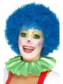 Clowns kraag groen