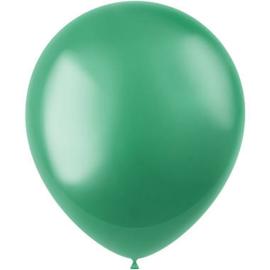 Ballonnen Radiant Regal Green Metallic 33cm - 50 stuks