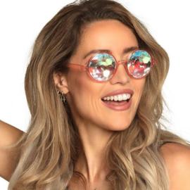 Partybril Delusium Roze One-size