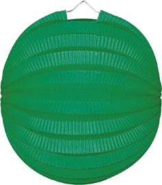 Lampion rond groen