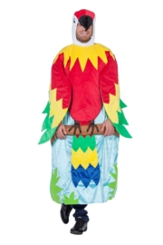 Aap in boom kostuum