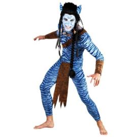Avatar tsutey strijder kostuum