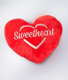 Hart kussen - Sweetheart