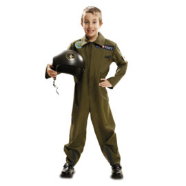 Top gun piloot boy outfit