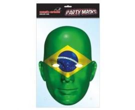 Masker Braziliaanse vlag OP=OP