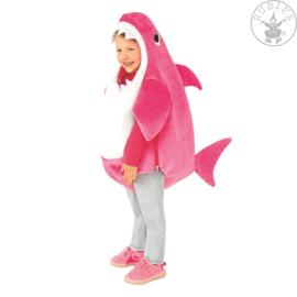 Mommy Shark kind met geluid kostuum