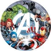 Avengers Fight | Composteerbaar Papieren bordjes