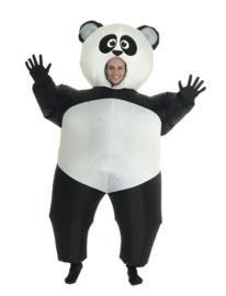 Opblaasbaar panda kostuum