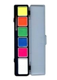 PXP palet 6 neon kleuren