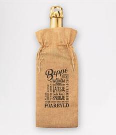 Bottle gift bag - Beppe