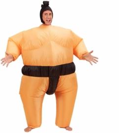 Opblaasbare sumo worstelaar kostuum