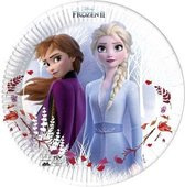 Frozen II Destiny Awaits   Composteerbaar Papieren bordjes